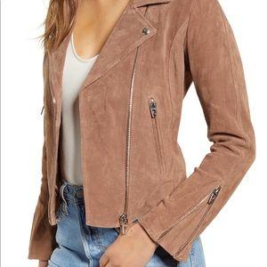 NWT Blank NYC suede jacket